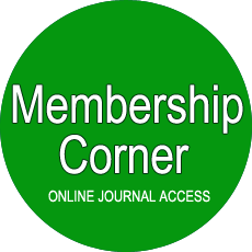 Membership Corner and Online Journal Access