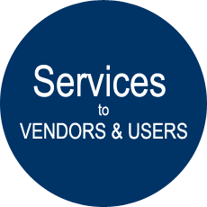 Services to vendors and users
